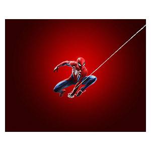 Хардпостер (на твёрдой основе) Spider-man. Размер: 50 х 40 см